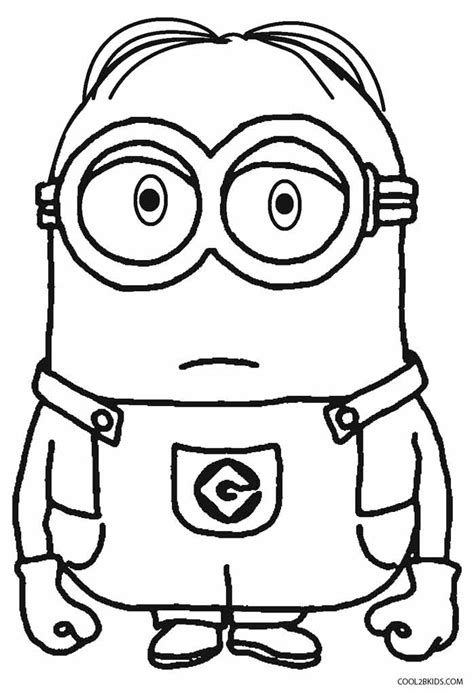 coloring page of a minion free coloring pages of able me minions