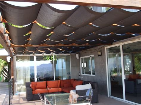 Outdoor Awnings And Shades by Slidewire Outdoor Shades Modern Patio Los