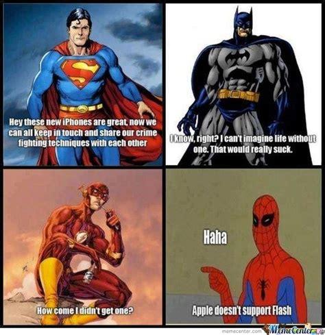 Meme Superhero - apple vs the superheroes by awesomeone meme center