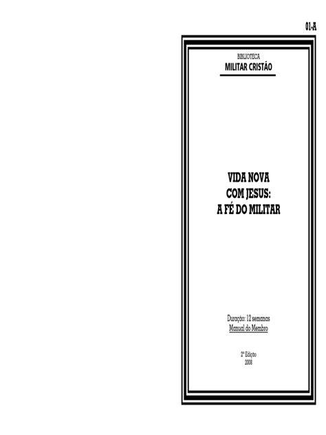 Militar Cristão - Vida nova 01A.pdf | Bíblia | Jesus