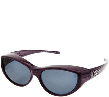 jonathan paul jeweled fitover sunglasses w swarovski