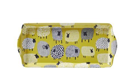 Ulster Weaver Large Tray trays co uk ulster weavers dotty sheep sandwich tray sandwich trays melamine trays trays