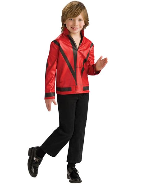 Michael Jackson Costumes Up For Auction by Ck340 Licensed Michael Jackson Thriller Jacket Child