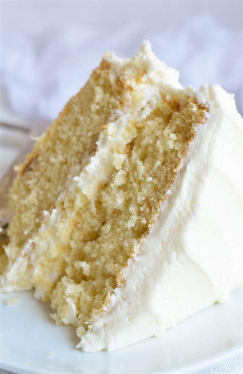 buttermilk vanilla cake recipe from scratch