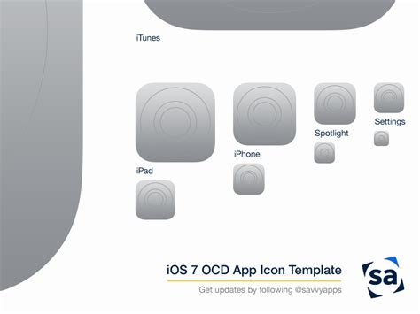 ios application templates 25 ios app icon templates to create your own app icon