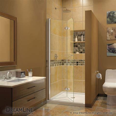 stand up shower glass door aquafold hinged tub door