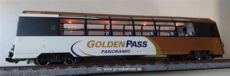 lgb wagen lgb 39666 pers wagen mob golden pass 2er set abholung