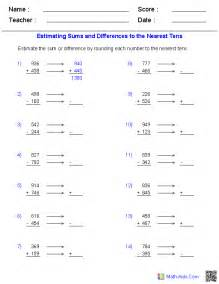Estimation worksheets dynamically created estimation worksheets for