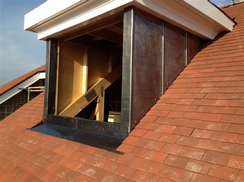 Lead Dormers here is a one of 5 lead dormers i cladded in lead dormer lead roof flat roof