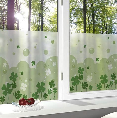 frosted window film for bathroom 15 styles 40x40cm lovely frosted glass window decorative