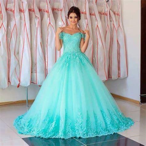 preciosos vestidos de 15 a 241 os color aqua