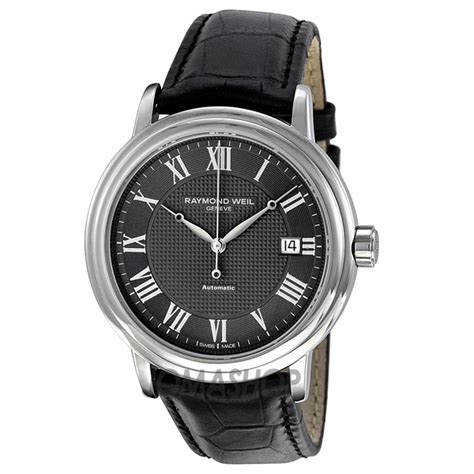 raymond weil maestro automatic leather s
