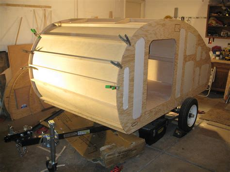 dirks diy cer trailer simple and effective kitchen cing trailer diy pinterest nice how to build your custom teardrop trailer quickly and