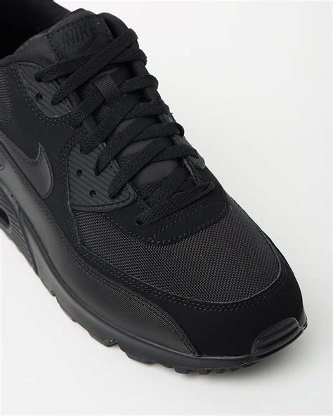 Nike Airmax 90 Black nike air max 90 essential black sneaker store