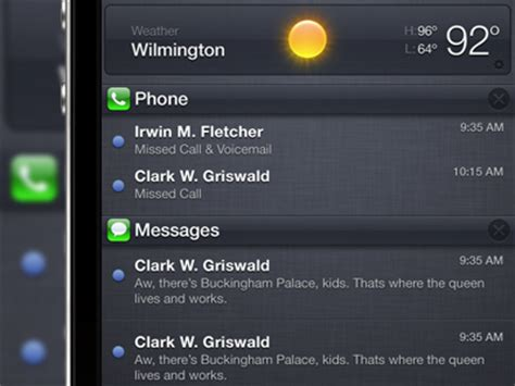 themes for notification center a roundup of custom notification center widgets themes