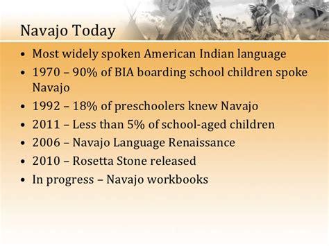 rosetta stone navajo language hieber language endangerment a history