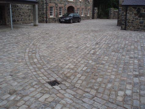 driveway using reclaimed granite setts ced ltd for all your natural stone