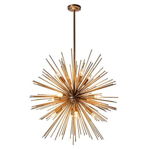 Starburst Pendant Light Starburst Pendant By Out There Interiors Notonthehighstreet