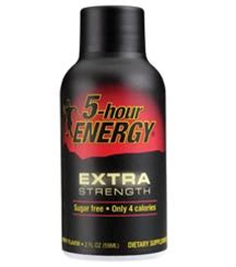 5 Hour Energy Shelf by Living Essentials 5 Hour Energy Strength Drink