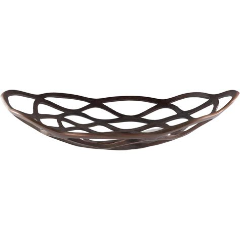 Metal Depot 4934 by Artistic Weavers Edrao Copper 20 In Decorative Bowl