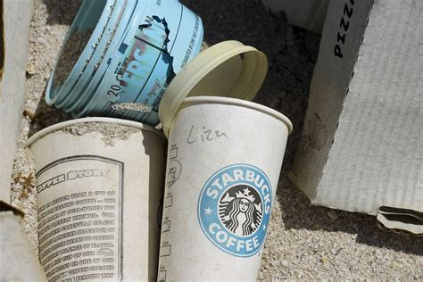 coffee starbucks trash  photo  pixabay