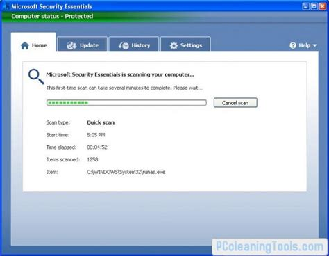 microsoft security essentials free for windows