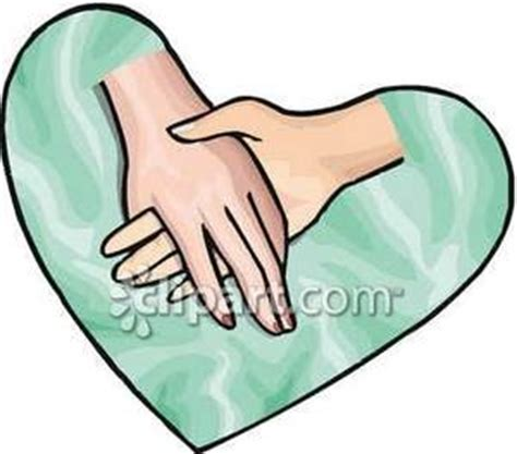 clip art of holding hands