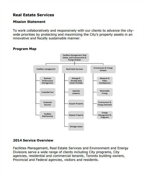 51 Mission Statement Exles Sles Pdf Word Pages Real Estate Mission Statement Template
