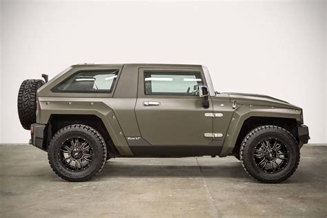 rhino xt jeep you won t believe this hummer hx was once a jeep
