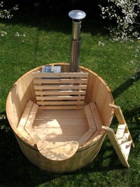 make your bathtub a jacuzzi how to build your own wood fired hot tub home design
