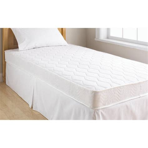 twin size bed walmart mainstays 6 quot coil mattress twin size walmart com