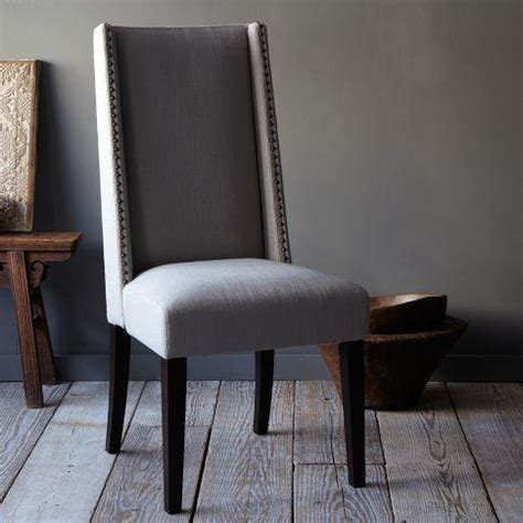 west elm dining room chairs willoughby nailhead dining chair west elm