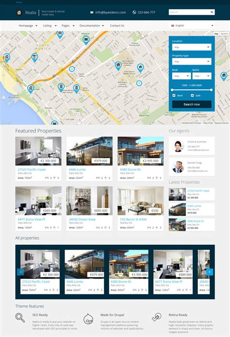 drupal theme visia 15 hand picked beautiful drupal themes