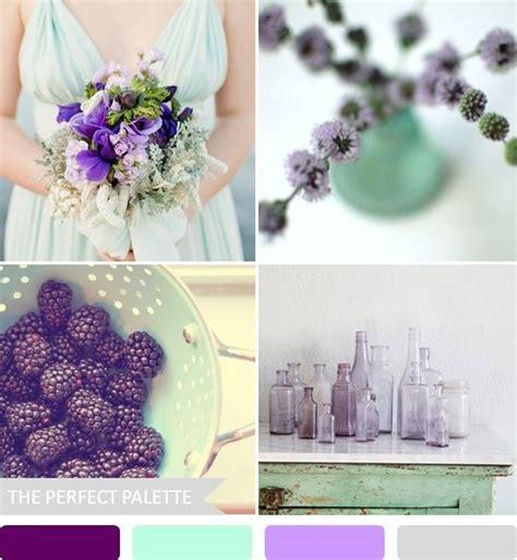 mint and purple wedding mint and plum wedding scheme wedding
