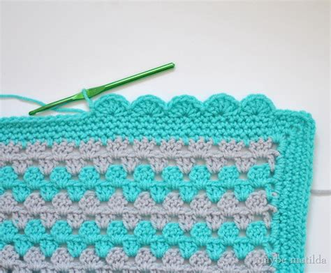 how to crochet a border on a knitted blanket lovely crochet edging patterns ideas hative
