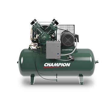 advantage 5 25 hp lubricated reciprocating compressor