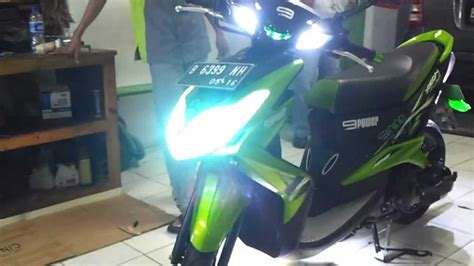 Lu Led Motor Yamaha Xeon Motor Display 9nine Mp4