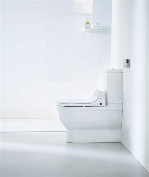 klosett mit dusche starck c stand wc kombination dusch klosetts duravit