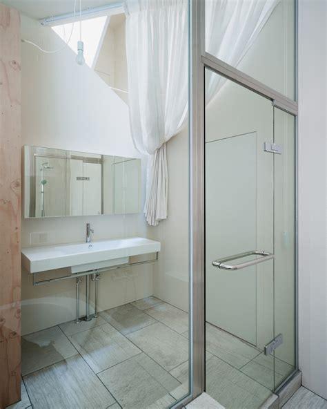 designboom bathroom kame house by kochi architect s studio has a hexagonal void
