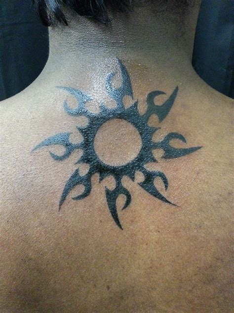sun tribal tattoo tribal tattoos designs ideas and meaning tattoos for you