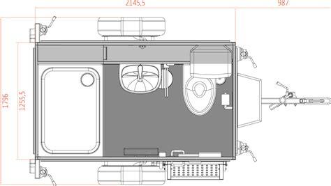 Mini Dusche by Mobiles Badezimmer Das Mini Bad Toi Toi Dixi Toi