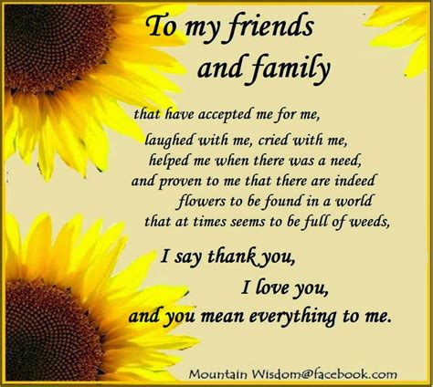 Wedding Quotes About Family And Friends by Daveswordsofwisdom Thank You To My Friends And Family