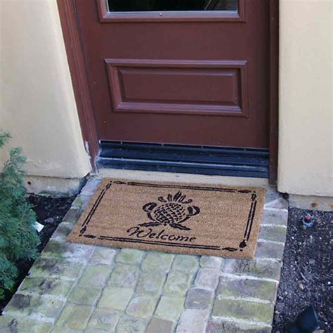 """Pineapple Welcome Mat"""