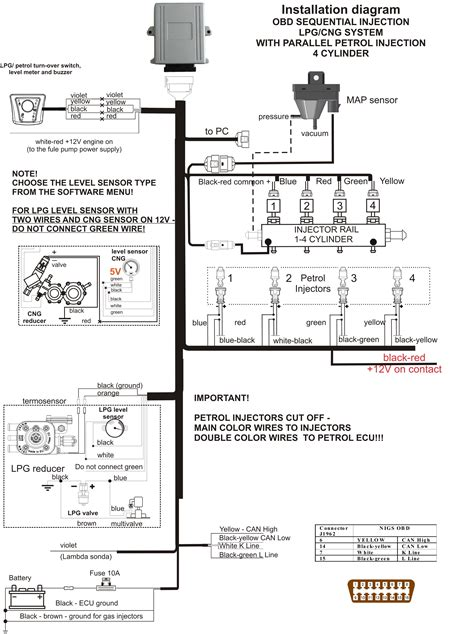 lpg wiring diagram images electrical and wiring