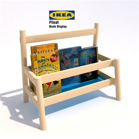 ikea flisat 3d model of ikea flisat book display