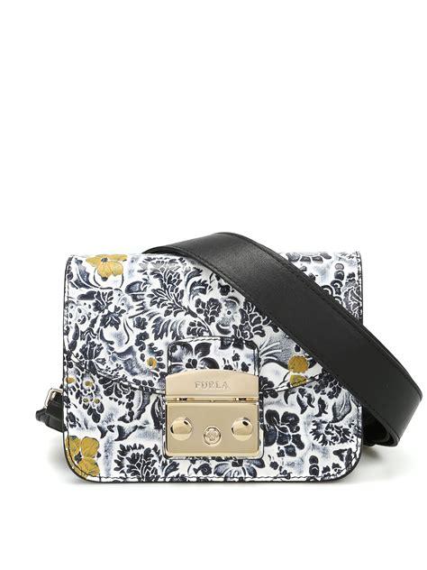Furla Original Mini Bag metropolis embossed flower mini bag by furla cross