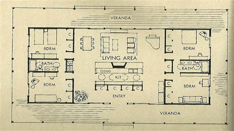 mid century floor plans mid century modern architecture mid century modern house floor plan 1950s home plans
