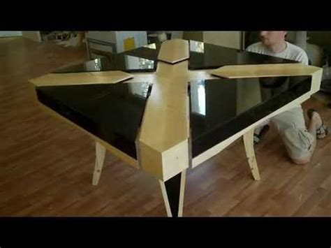 expanding square table expanding square table with glass top quot real size quot part 8