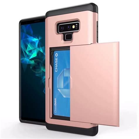 1 Samsung Galaxy Note 9 Phone Cell Phone Wallet For Samsung Galaxy Note 9 Credit Id Card Holder Pocket Card Slot