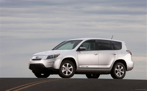 Pictures Of A Toyota Rav4 Toyota Rav4 Ev 2013 Widescreen Car Image 04 Of 12